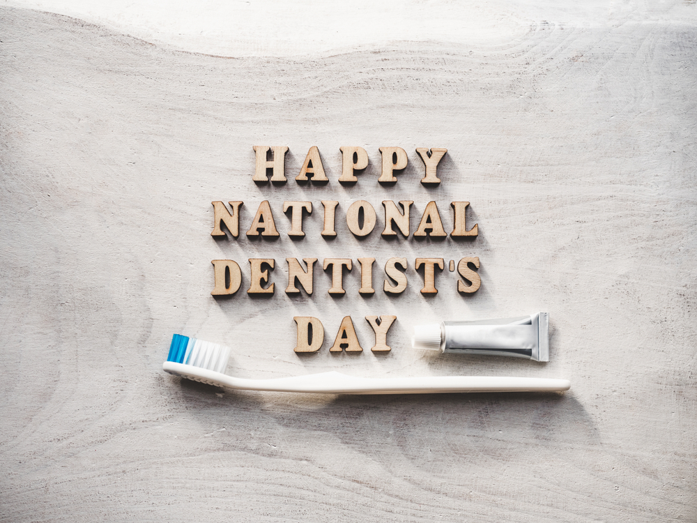 National Dentist Day Image